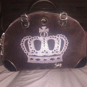 Juicy couture pet satchel/Carrier